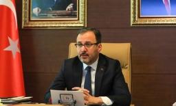 Bakan Kasapoğlu, Avrupa Konseyi 16. Spordan Sorumlu Bakanlar Konferansı'na katıldı