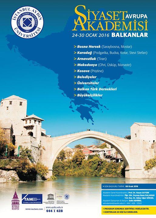 Siyaset Akademisi Avrupa / Balkanlar