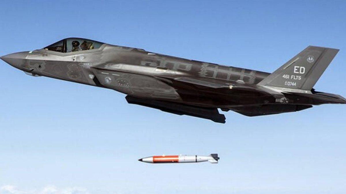 ABD, F-35 uçağında B61-12 tipi nükleer bombanın modelini test etti