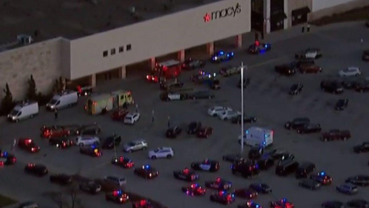 ABD'de bulunan bir alışveriş merkezinde silahlı saldırı gerçekleşti