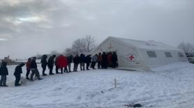 Avrupalı Türkler Topluluğundan Bosna Hersek'teki göçmenlere gıda yardımı