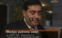 Balkan Günlüğü Gazetemi NTV'de