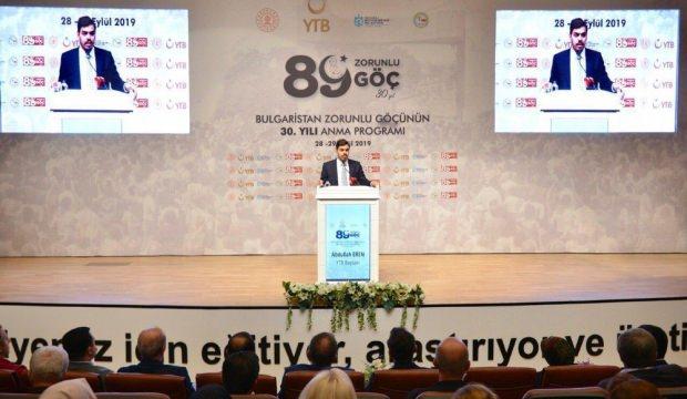 'Balkanlar'dan Müslüman Türk kimliğini silmek mümkün değildir'