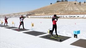 Milli biatloncular Balkan Kupası'nda madalya almak için ter dökecek