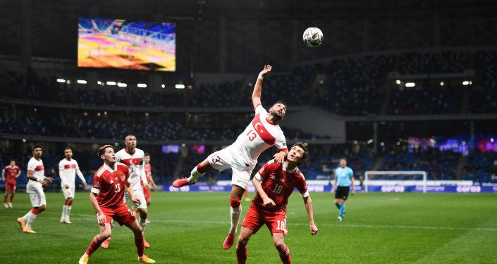 Çerçesov: Türk milli takımında yapılan oyuncu değişiklikleri Rusların maç boyunca üstünlük sağlamasına imkan tanımadı