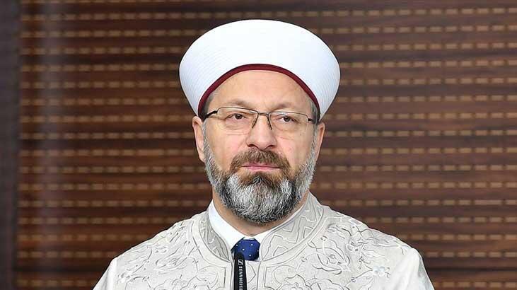 Diyanet İşleri Başkanı Erbaş, İskeçe Müftüsü Mete'ye ırkçı tehdit mesajı yazılmasını kınadı