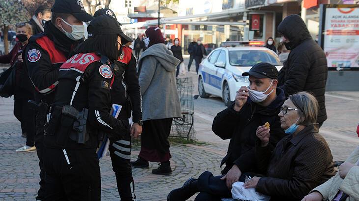 Komşunun akın ettiği Edirne'de, Bulgarca anonslarla 'koronavirüs' uyarısı