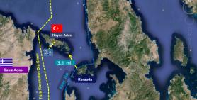 Yunanistan'ın Silahlandırdığı Adalarda, Ege Denizi'de Yaşanacak Muhtemel Güvenlik Sorunları