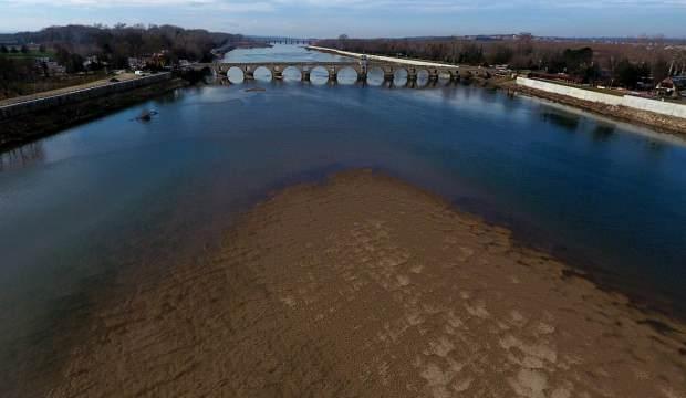 Tunca ve Meriç nehirlerinin debisi düşüyor