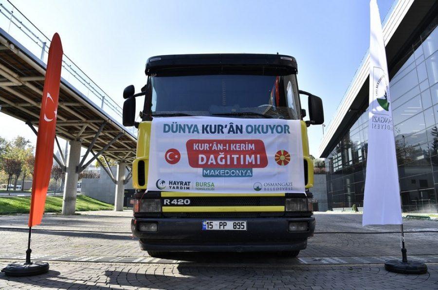 Kuzey Makedonya'ya 20 Bin Kur'an-ı Kerim