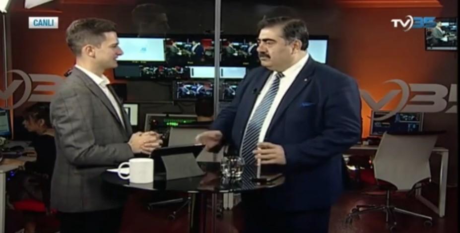 Basam Başkanı Sait, TV35'e Yayın konuğu Oldu