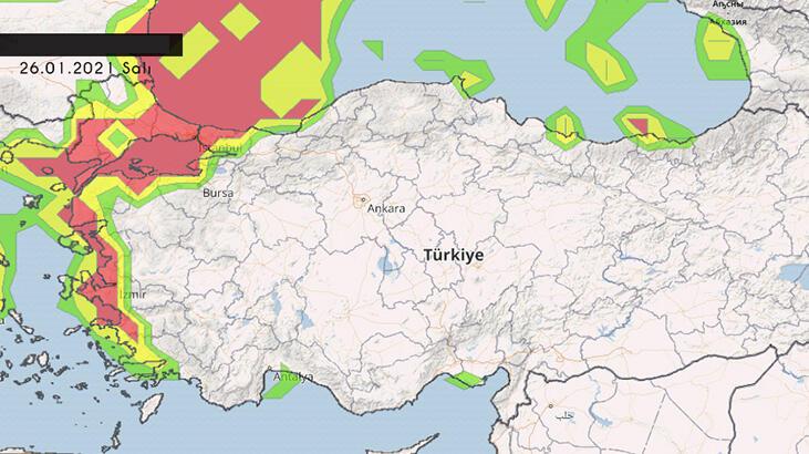 Son dakika haberi | İstanbul'da herkes kar yağışına odaklanmışken beklenmedik tehlike