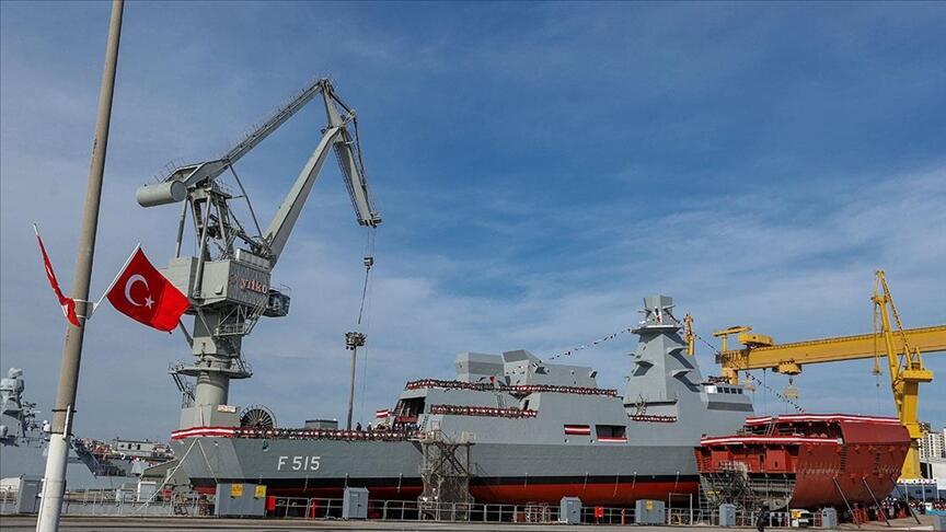 Son dakika! İstanbul'da tarihi tören! Milli fırkateyn 'İstanbul' denize indiriliyor