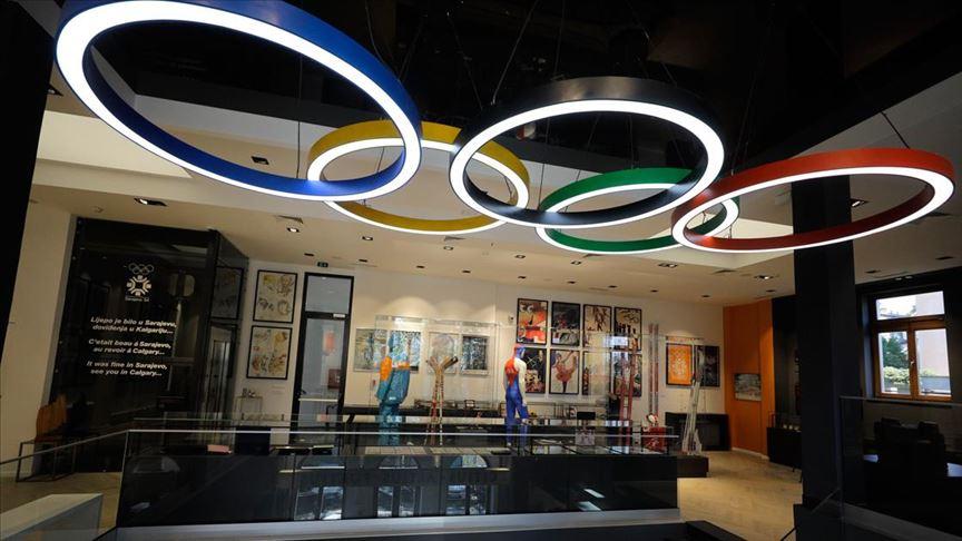 """Saraybosna'nın """"sporu sanatla buluşturan"""" Olimpiyat Müzesi küllerinden yeniden doğdu"""