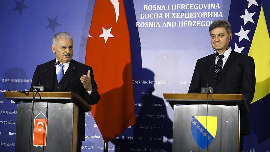 """""""Balkanların istikrarı ve güvenliği aslında Avrupa'nın güvenliğidir"""""""