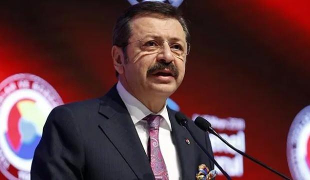 """TOBB Başkanı Hisarcıklıoğlu: """"KOBİ'lerimizi yeni teknolojiler üretmede yalnız bırakmayacağız"""""""