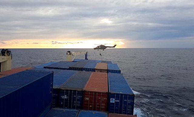 Türk gemisine hukuk dışı arama