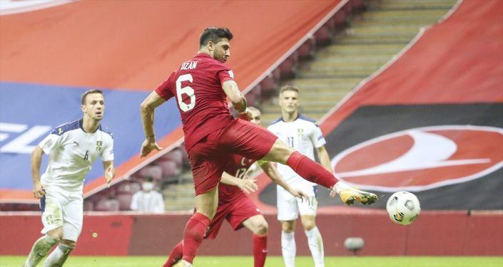 Türkiye A Milli Futbol Takımı, konuk ettiği Sırbistan ile 2-2 berabere kaldı