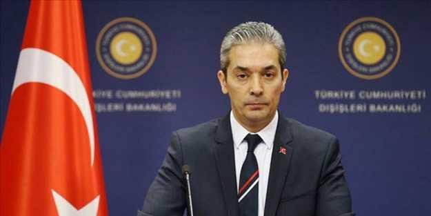 Son dakika… Türkiye'den Yunan Bakan'a cevap: 'Gülünç bir iddia'