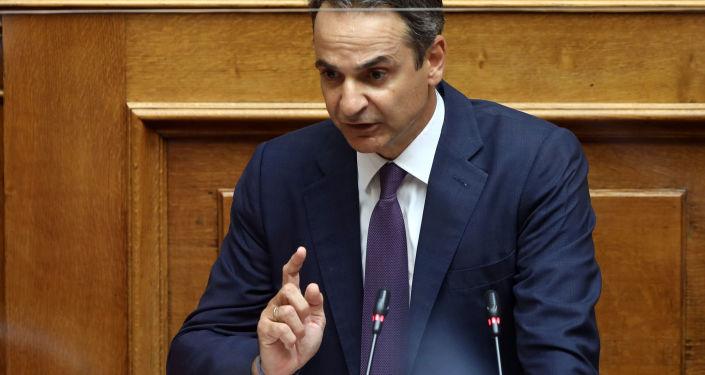 Yunanistan Başbakanı Miçotakis'ten 'Türkiye'nin eylemlerini kısıtlama' çağrısı